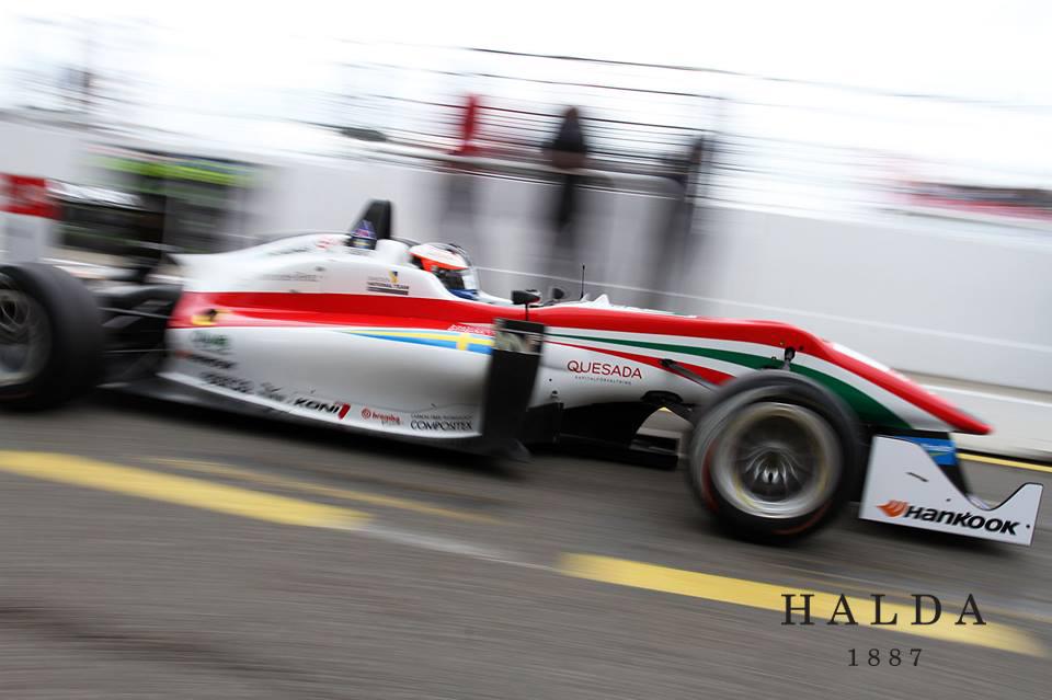 Halda signs F3 winner Felix Rosenqvist